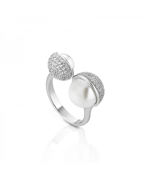 Anello Light Pearl Giannotti Argento