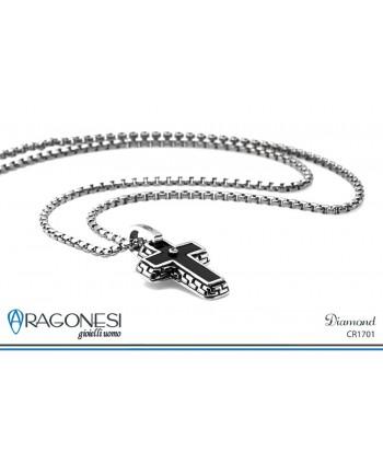 Croce Uomo Diamond CR1701