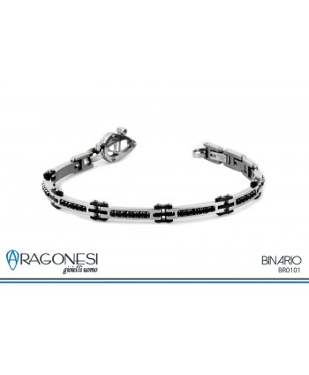 Bracciale Uomo Binario BR0101