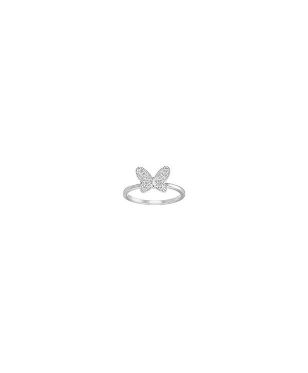 Anello Field Butterfly Bianco 5284083