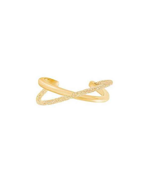 BRACCIALE RIGIDO CRYSTALDUST CROSS, MARRONE, PLACCATURA ORO 5368494