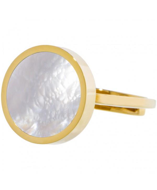 Anello Marlù oro e madreperla 14mm