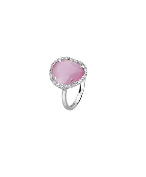 Anello Mabina rosa
