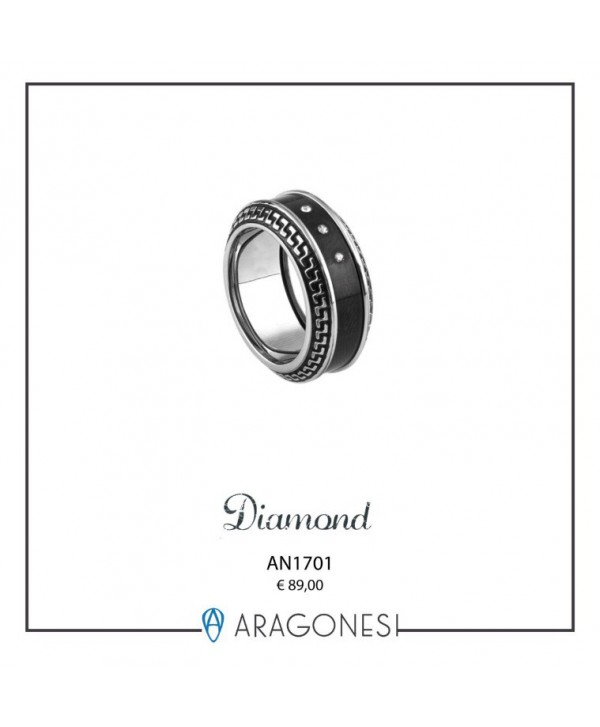Anello Uomo Diamond AN1701/25