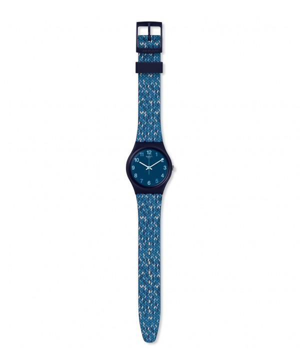OROLOGIO SWATCH WORLDHOOD TRICO'BLUE GN259