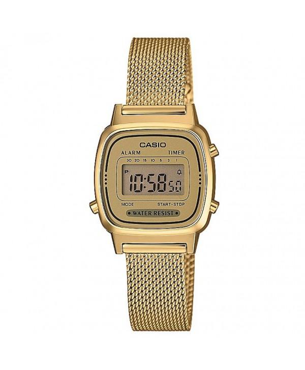 Orologio Donna Casio Retro oro