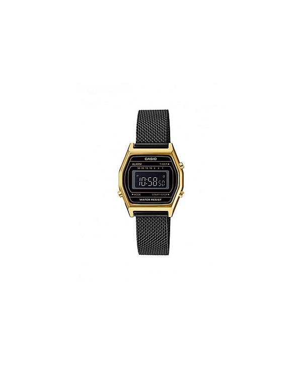 Orologio Unisex Casio Retro nero e oro