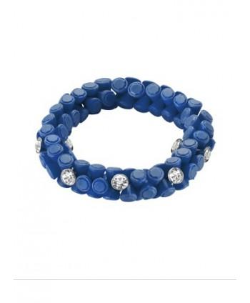 HIP HOP GIOIELLI GEM BRACCIALE CLASSIC BLUE HJ0262