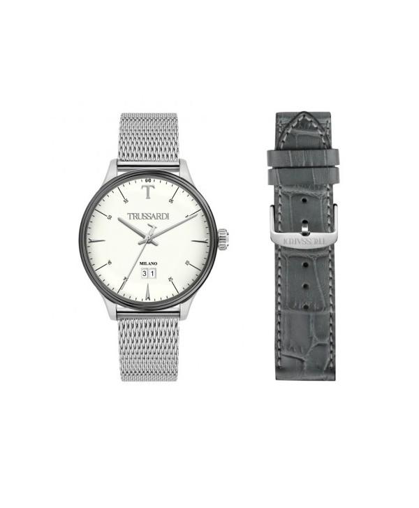 top design materiale selezionato acquista lusso Set orologio e cinturino Uomo Trussardi T-Complicity