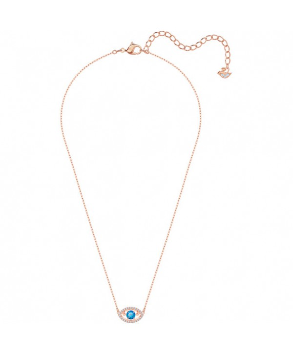 COLLANA LUCKILY, MULTICOLORE, PLACCATO ORO ROSA 5448611
