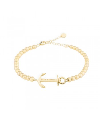 Bracciale Anchor Spirit Steel Golden Paul Hewitt PH-ABB-G-S