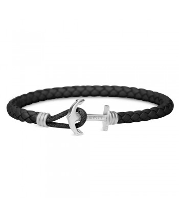 Bracciale Anchor Spirit Steel Balck Paul Hewitt PH-PHL-L-S-B-L