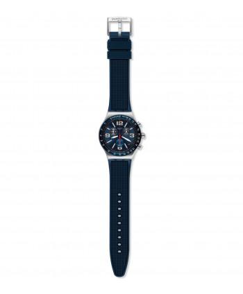 Orologio Swatch BLUE GRID YVS454