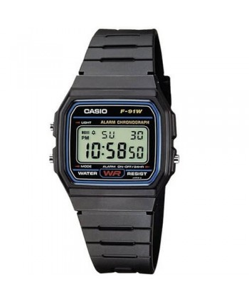 Orologio Casio Collection F-91W-1YER