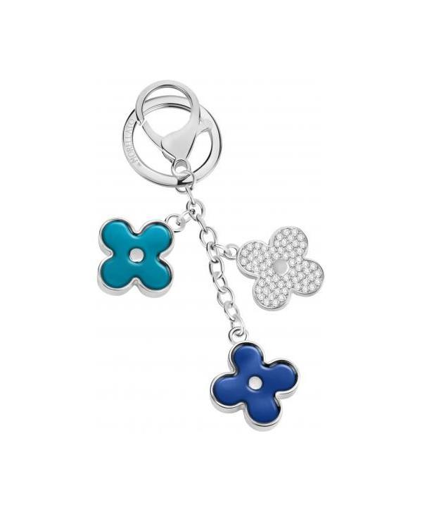 Portachiavi Morellato magic flower blu