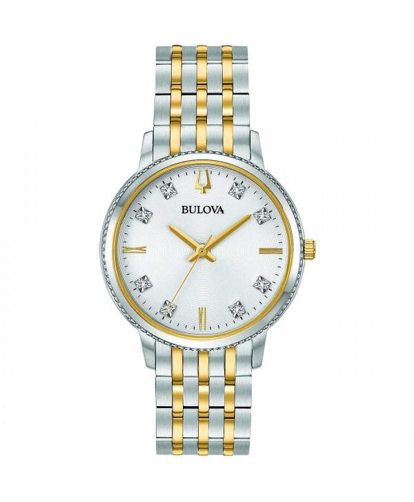 Orologio Bulova Da Donna Con Diamanti Classic