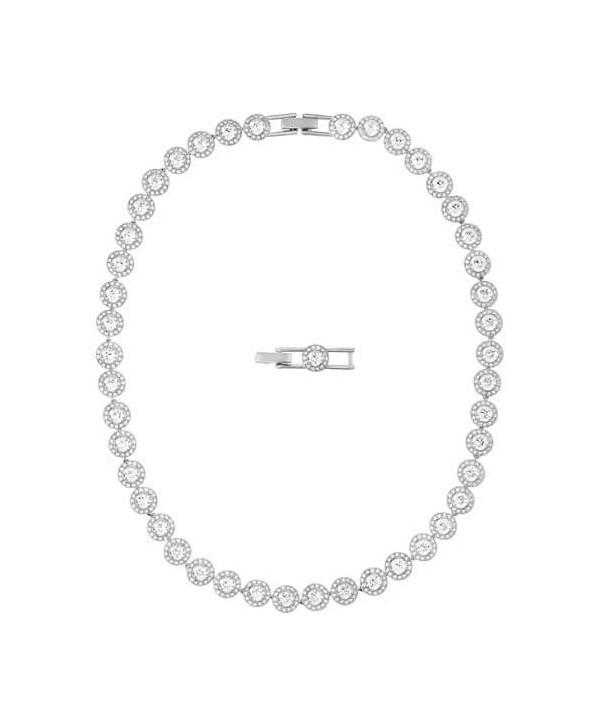 Collana Swarovski Angelic argento