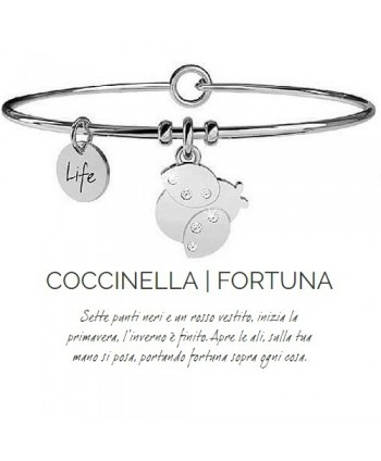 Bracciale Kidult Coccinella/Fortuna 231638
