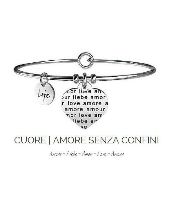 Bracciale Kidult Cuore/Amore senza confini 231606