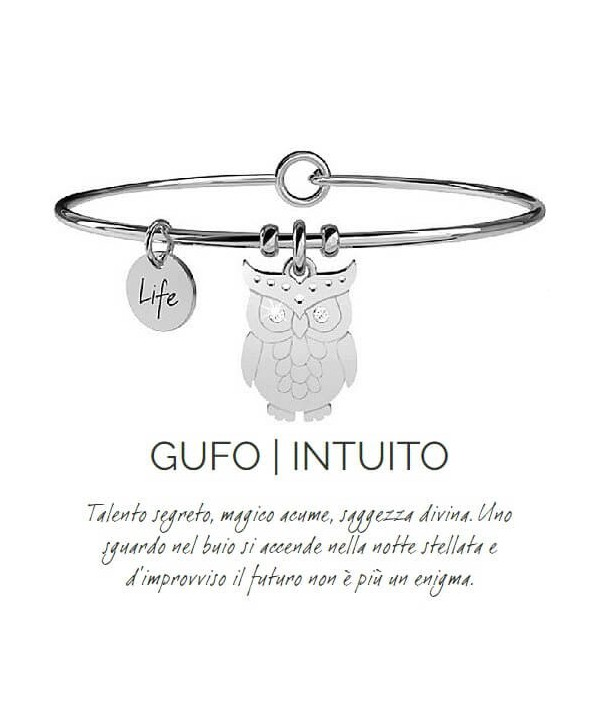 Bracciale Kidult Gufo/Intuito