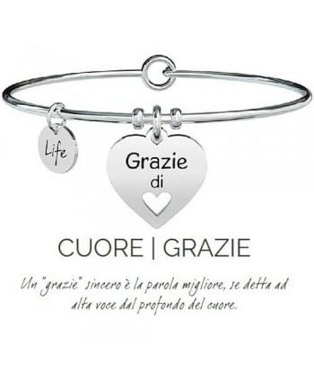 Bracciale Kidult Cuore/Grazie 731298