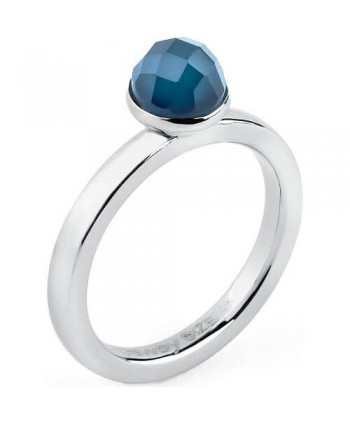 Anello donna Brosway collezione Tring agata blu Indipendenza
