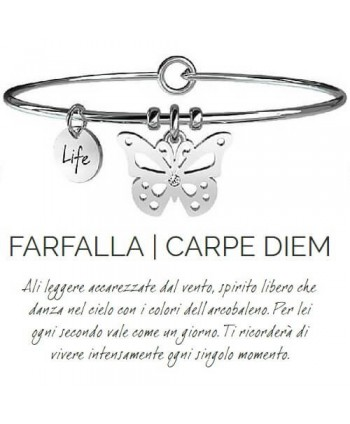 Bracciale Kidult Farfalla/Carpe diem 231591