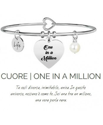 Bracciale Kidult Cuore/One in a million 731260