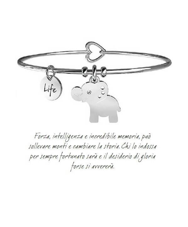 Bracciale Kidult Elefante/Forza interiore 231560