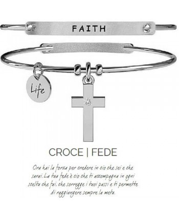 Bracciale Kidult Croce/Fede 231671