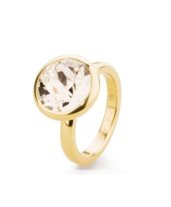 Anello Tring BTGC131D brosway allegria ovd oro e cristallo silk swarovski