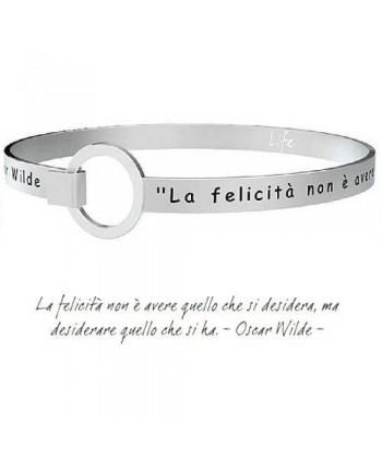 Bracciale Kidult La felicità...O.Wilde 231700