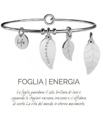 Bracciale Kidult Foglia/Energia 231622