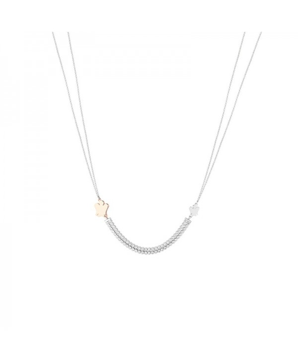 Collana in argento con elementi GIA284