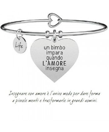 Bracciale Kidult Cuore/L'amore insegna 731292