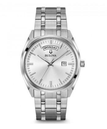 Orologio Bulova Day Date argento 96C127