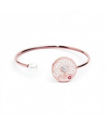 Bracciale Marlù Nel mio Cuore Albero dei Valori acciaio rosato 15BR030r