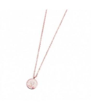 Collana Marlù Albero della Vita 12 mm acciaio rosato 15CN024R