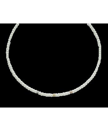 Collana Miluna perle diamantate PCL1701