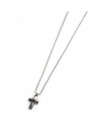 Collana Marlù Croce bugnata 4CN1627BR