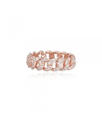 Anello Mabina catena con zirconi 523135-15