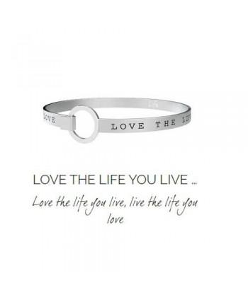 Bracciale Kidult Love the Life you live 231724