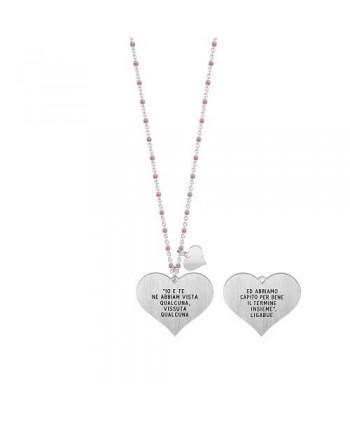 Collana lunga Kidult Ligabue Collection rosa 751141