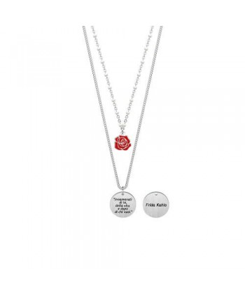 Collana doppia Kidult Frida Kahlo Collection Rosa 751150