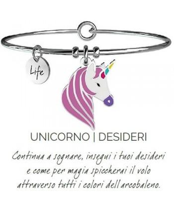 Bracciale Kidult Unicorno/Desideri