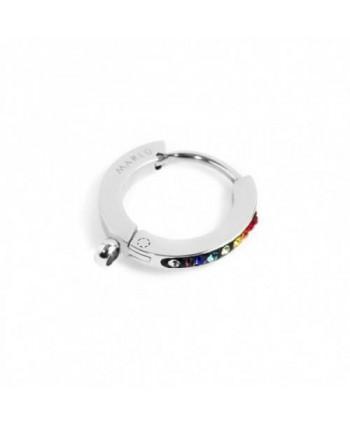 Mono orecchino Marlù Basi cristalli colorati 14 mm 2OR0055-RGB