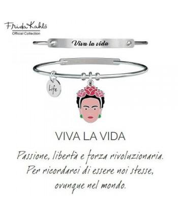 Bracciale Kidult Frida Kahlo VIVA LA VIDA