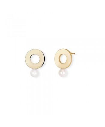 Orecchini 2Jewels Minimal Chic cerchio e perla 261287