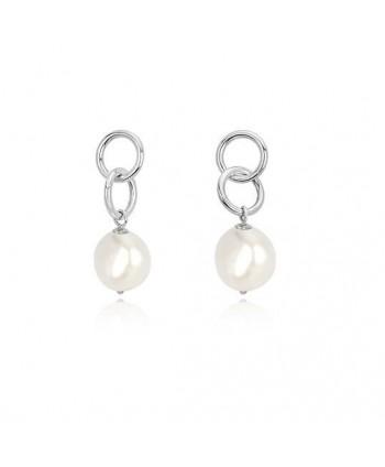 Orecchini lunghi Mabina con perla 563298