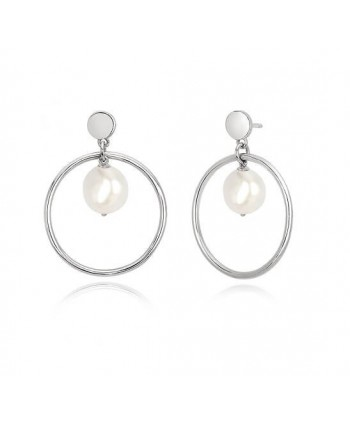 Orecchini Mabina argento e perle 563307